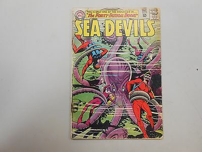 Sea Devils #21! (1965, DC)! GD1.5-! Solid and affordable silver age DC reader!