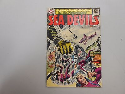 Sea Devils #11! (1963, DC)! FN6.0+! Quality silver age DC beauty! LOOK!