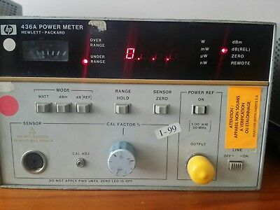 HP 436A Power Meter with opt 22