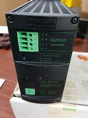 Murr MCS5-115-230/24 Switch Mode Power Supply - unused stores surplus