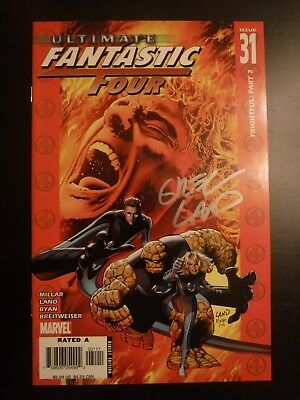 Ultimate Fantastic Four 31 Marvel Zombies Signed by Greg Land