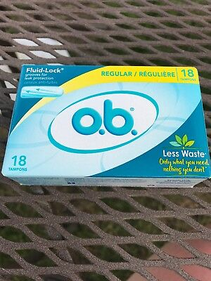 OB Tampons Regular 18 Count