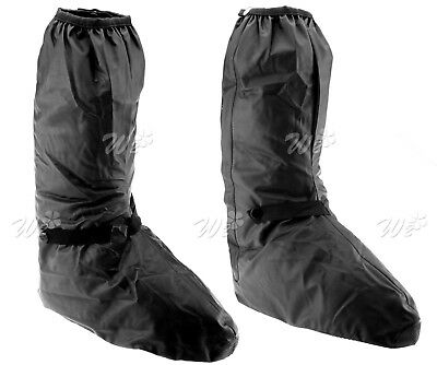 XXL Rain Boot Covers Dry Rainseal Waterproof For Motorcycle Motorbike Over Boots