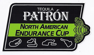 TEQUILA PATRON NORTH AMERICAN Endurance Cup RACING DECAL / STICKER