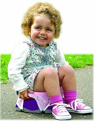 Potette Plus 2-in-1 Travel Potty (Pink/Purple)