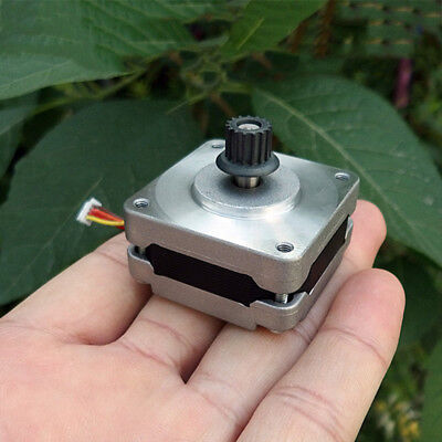 0.9 Degree 39MM Thin 2-phase 4-wire Stepping Stepper Motor Pulley CNC 3D Printer