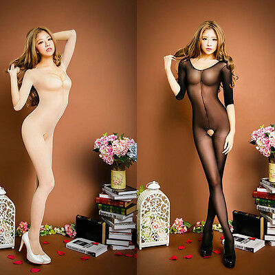 Women Lace Lingerie Nightwear Underwear Babydoll Sleepwear Body Stockings Dress