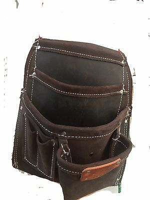 American Leather Craft 783 Seven Pocket Leather Pouch
