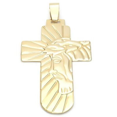 Beautiful Cross 18K Gold Over Sterling Silver !!!!