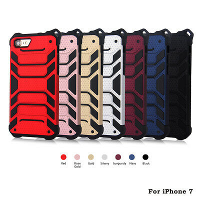 FOR IPHONE 7 Shockproof Rugged Armor Hybrid Back Case Cover Phones