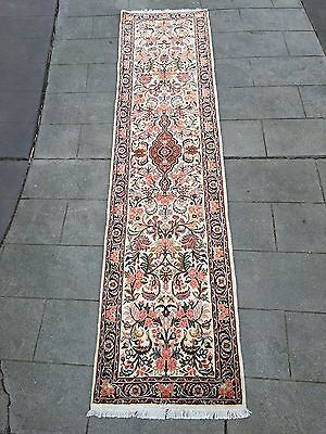 Beautiful Persian Hall Runner /Rug!  300cm  x  72cm  'Bidjar'