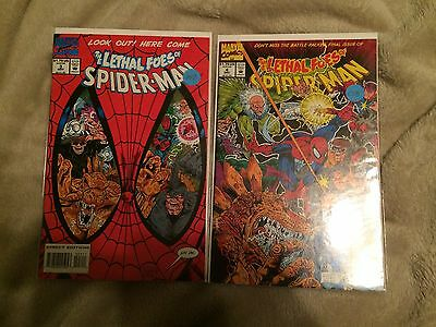 The Lethal Foes of Spider-Man #3 and #4
