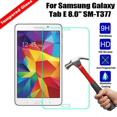 Premium Tempered Glass Screen Protector For Samsung Galaxy Tab E 8.0 T377 T375