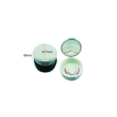 200pcs Wholesale Round Denture Box Teeth Storage Box with Mirror LK-412 Wd
