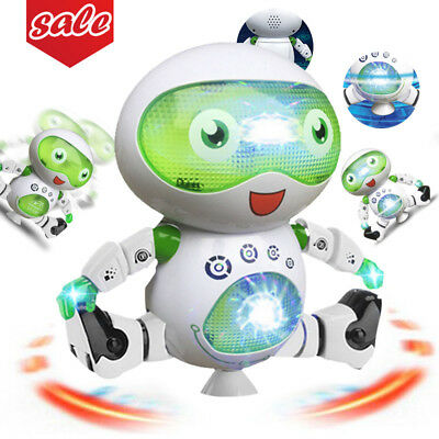 Toys for Boys Robot Kids Dancing Robot 3 4 5 6 7 8 9 Year Old Cool Toy Boy Gift