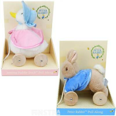 Peter Rabbit Pull Along | Jemima Puddle-Duck Pull Toys Beatrix Potter Baby Gifts