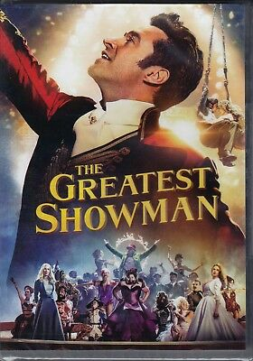 Dvd **THE GREATEST SHOWMAN** con Hugh Jackman nuovo 2017