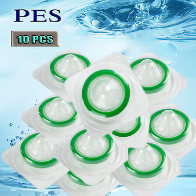 10pcs Sterile Syringe Filter PES(0.22/ 25mm) Extractable Test Analyzed Filter