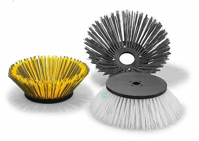 Side Brush Mix with Wire for Hako Jonas 1700 E/V - Poly and Corrugated Crimped