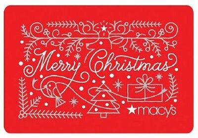 MACY'S Gift Card Value $381.28