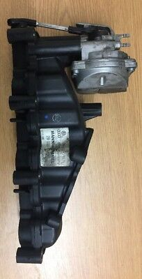 Genuine VW / Audi - Inlet Manifold And Motor - 059129712N