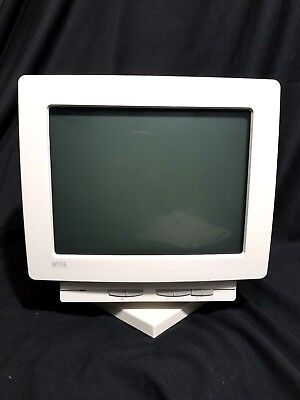 """Brand New Wyse Wy-55, 901237-53 14"""" Crt Terminal Monitor With Manual And Cord"""