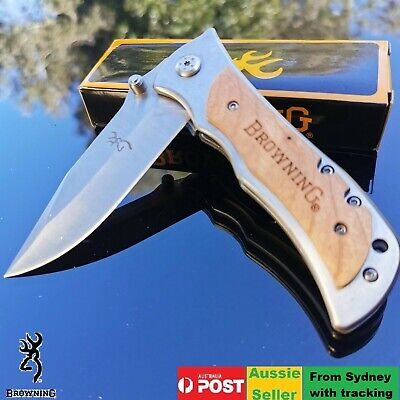 Browning  Knife Folding Opening Pocket Knife(Survival&Fishing&Hunting&Camping