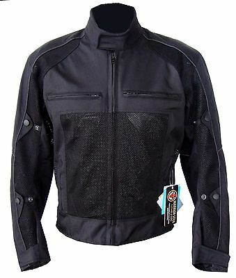 Motorcycle Summer Cordura Mesh Breathable Ce Removable Protector Armour Jackets
