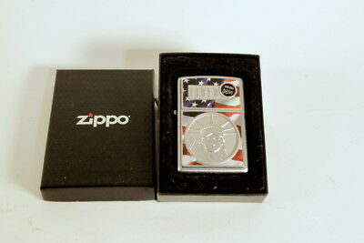 Zippo The Face of Statue Liberty Flag Lighter 21074 3D 2007 NEW W/ Box