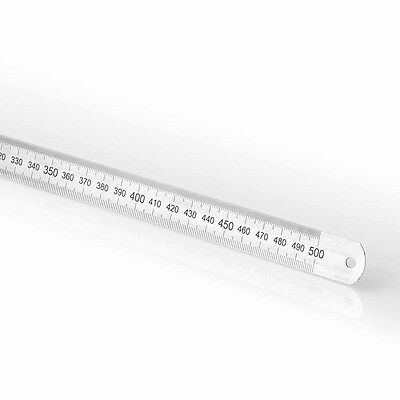 Vogel Germany Stainless Steel Metric Rule, 150mm to 3000mm
