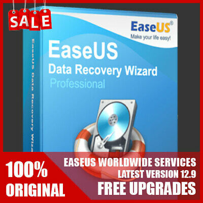 EaseUS Data Recovery Wizard v12.9 - ORIGINAL 1-year License - FREE Upgrades