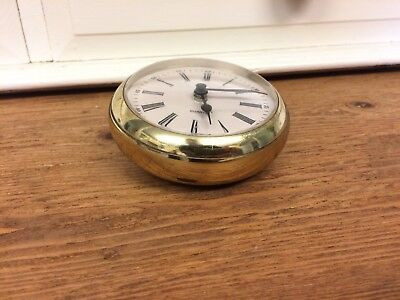 Vintage German Brass Clock