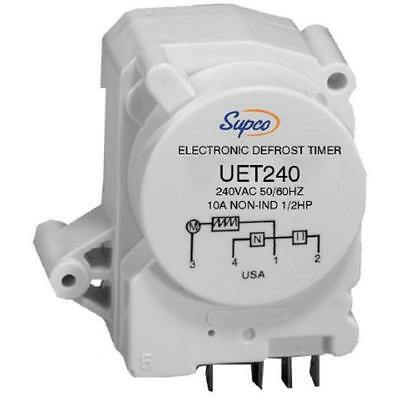 SUPCO UET240 Universal Adjustable Electronic Defrost Timer 240 VOLTS 5 AMPS