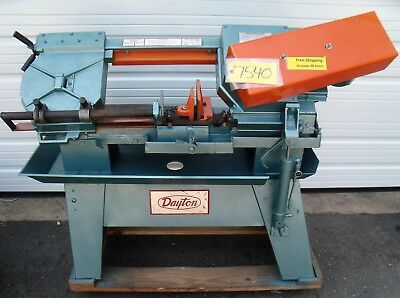 "Dayton Horizontal Metal Cutting Band Saw # 32518 3/4"" x .032 x 101""    Free Ship"