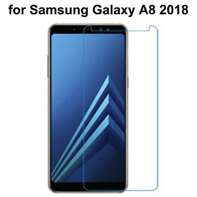 HD Tempered Glass Screen Protector for Samsung Galaxy A8 / A8 Plus 2018 (2 Pks)