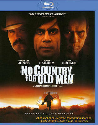 No Country for Old Men [Blu-ray, Digital HD, Ultraviolet], Very Good DVD, Rodger