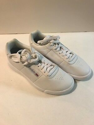 REEBOK CLASSIC LEATHER White Womens Classics Shoes size 10 -  69.99 ... 914076f11