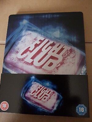 Fight Club Blu-Ray Steelbook With Slip-Cover