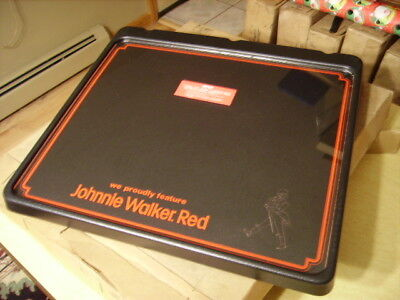 Johnnie Walker Red Bar Advertising Light Up Crayon Board - New Old Stock -