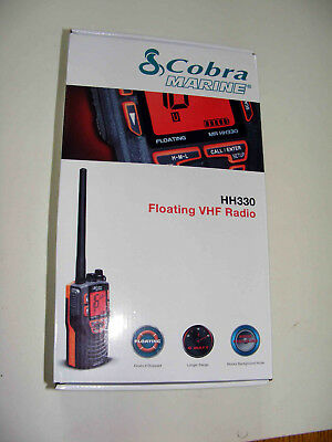 Cobra Marine Floating VHF Raio HH330
