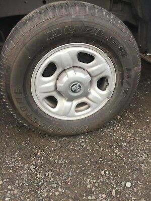 Holden Colorado Rg 16 Inch Rims And Tyres Like New