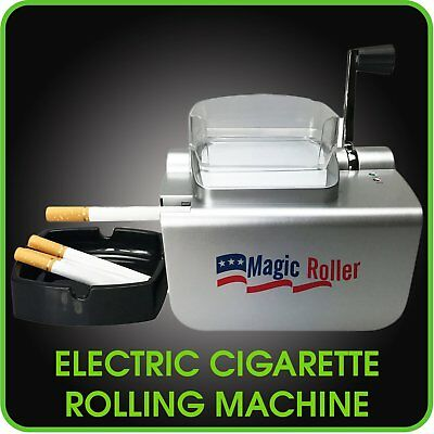 Electric Cigarette Rolling Machine Automatic Injector Roller Make King & 100 MM