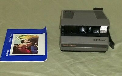 Polaroid Spectra System Camera With Manual