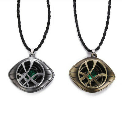 Dr Doctor Strange Eye of Agamotto Amulet Pendant Necklace Prop Cosplay Gift