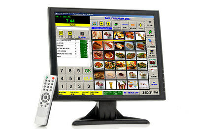 NEW CVVG-E279 THIS 17 INCH LCD TOUCH SCREEN MONITOR WILL GIVE YOU A WHOLE N.g.