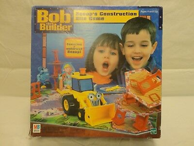 Bob the Builder Scoops Construction Site Game 2001 Milton Bradley