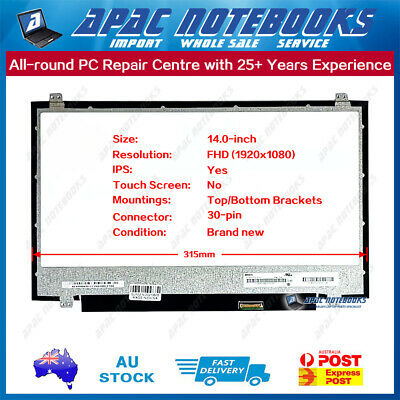 """14.0"""" IPS FHD(1920x1080) LED Screen Non-touch For N140HCE-EN1 REV C2"""