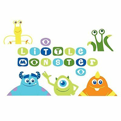 Monsters, Inc. Removable Wall Decals by Disney Baby
