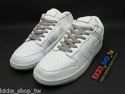 online store 2a188 f0fd5 Ds 2006 Nike Dunk Low Premium Sb White 4Th Medicom 4 Be rbrick 313170-