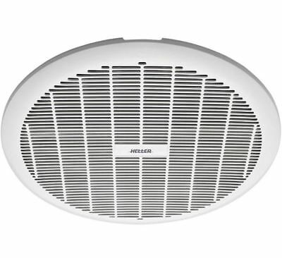 Heller 250mm White Exhaust Fan Laundry Bathroom Ventilation Ceiling Round